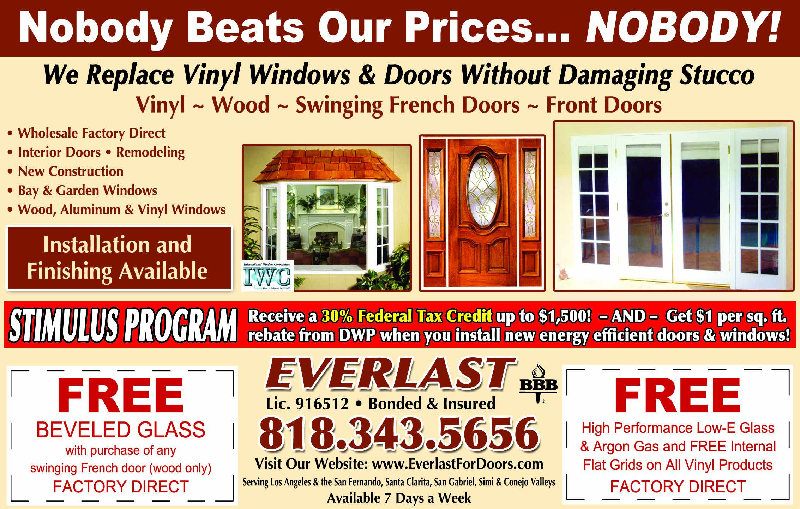 Great Door and Window Specials