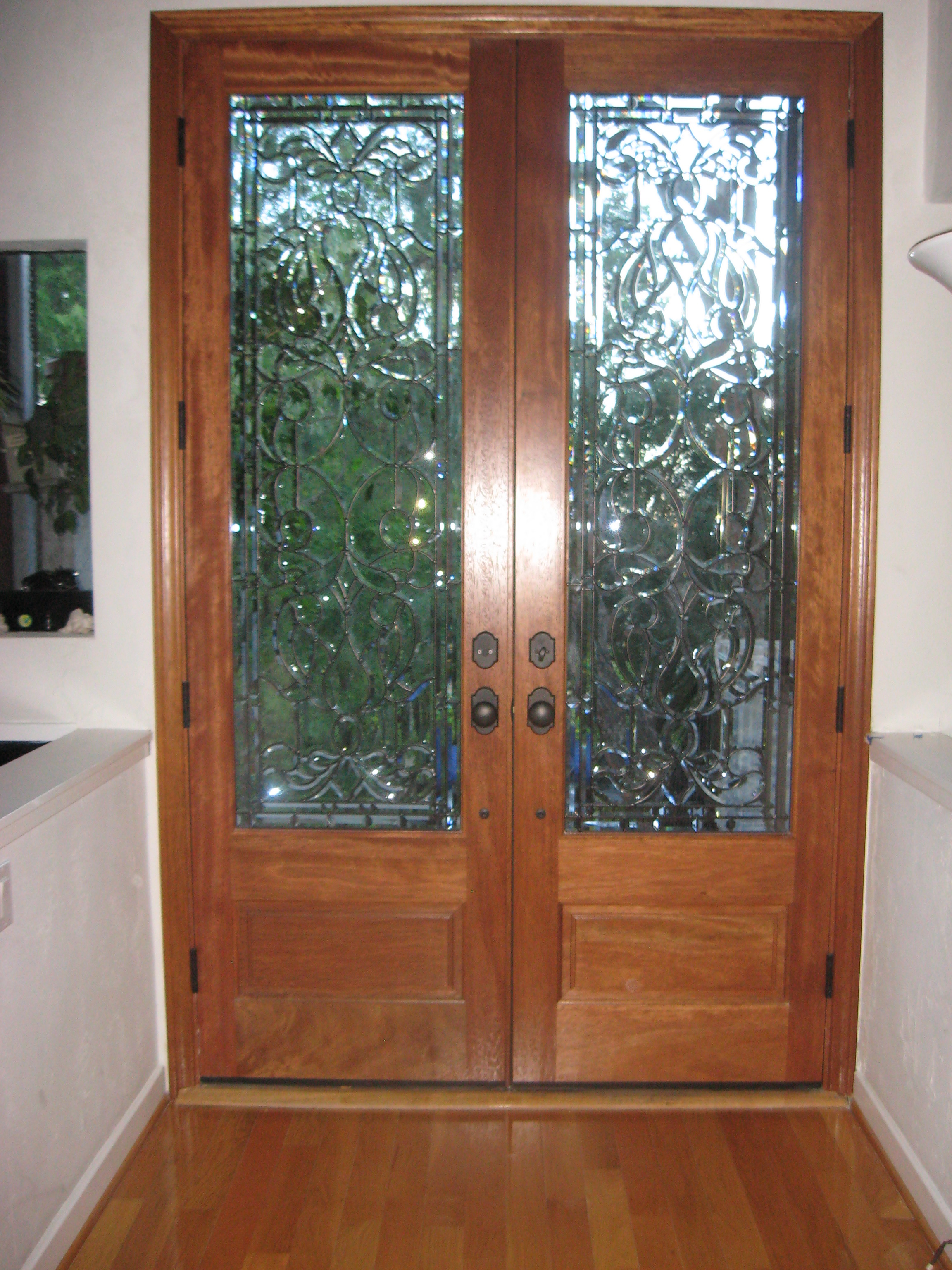 Double doors front entry doors exterior doors for Exterior front entry doors